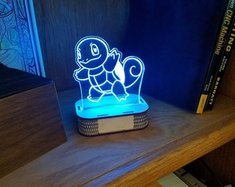 Squirtle LED Sign