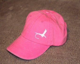 Pink fly hat