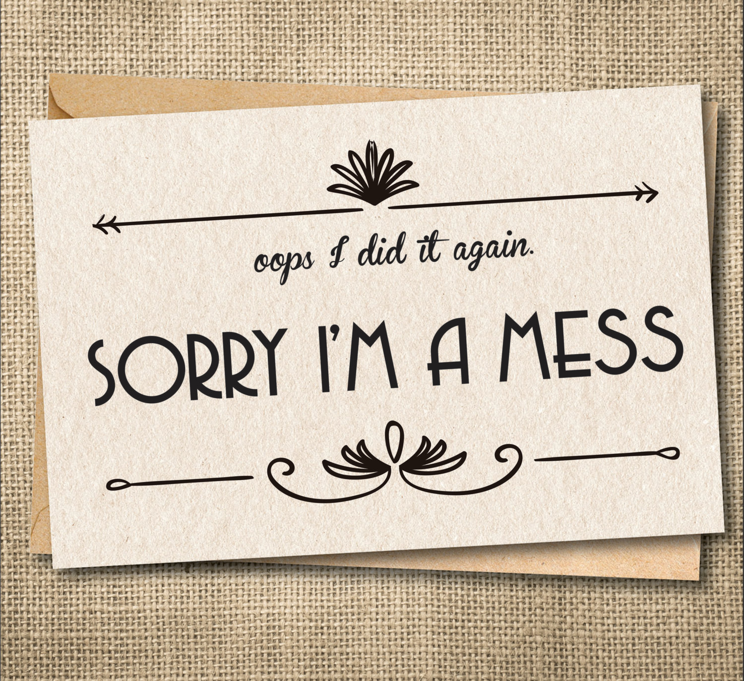 Im sorry card apology card i messed up card custom zoom kristyandbryce Gallery