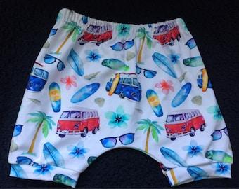 Baby/ kids shorts - camper vans