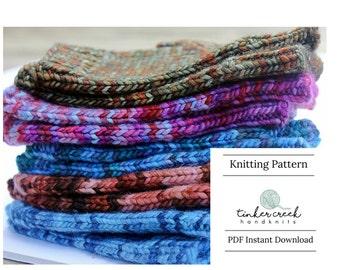 Knitting Pattern Fingerless Gloves, Knitting Patterns, Knitting Pattern, Pattern for Fingerless Gloves, Wrist Warmers, Texting Gloves,