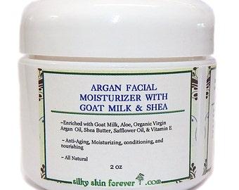 Argan Face Cream with Goat Milk  & Shea Butter