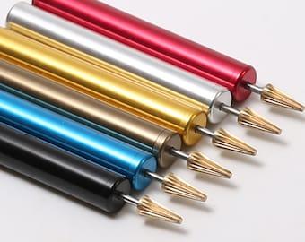 Leathercraft Edge Painting Pen Treatment Dressing Lacquer Enamel Dye Paint DIY Leather Handmade Tool Craft