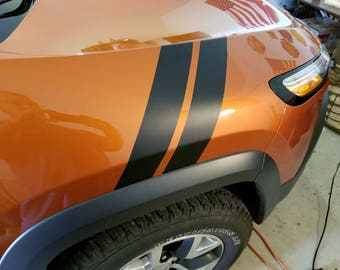 Jeep Cherorkee fender hash marks full set left and right.