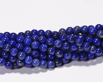 Lapis Lazuli 4.2mm  Royal Blue Natural Lapis Lazuli Jewelry Making Supplies