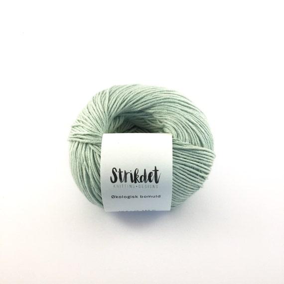 STRIKDET Organic Cotton Mint Green / Økologisk Bomuld - Mint Grøn