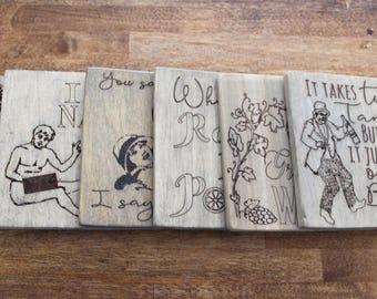 Create Your Own Custom Set of Coasters