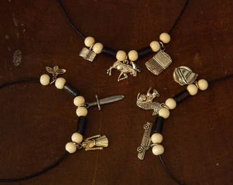 SUPERNATURAL Themed Team Free Will Friendship Necklaces