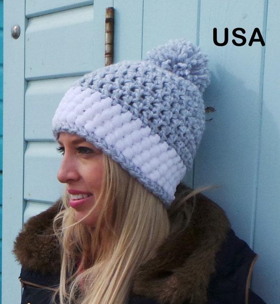Womens Crochet Hat Pattern Crochet Hat Pattern Winter Hat Pattern