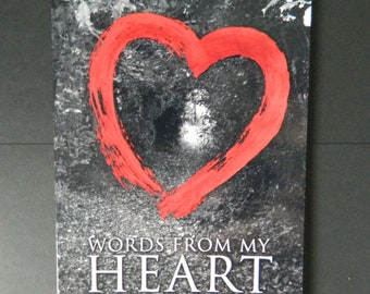 Words From My Heart Poetry Book