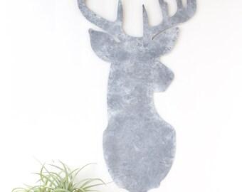 Deer Head Metal Wall Art, Deer Head Wall Decor, Deer Wall Art, Deer Antler Decor, Deer Metal Wall Art, Metal Wall Decor, Metal Art Decor