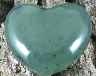 Serpentine New Jade Heart, Serpentine, New Jade, Green Heart, Crystal Heart, Crystal Healing, Healing Crystal, Green Crystal, Meditation