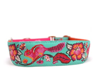 "1.5"" Chipmunk martingale or buckle dog collar"