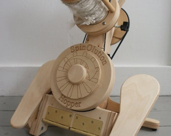 SpinOlution HOPPER Spinning Wheel - Choose Your Size + Free Shipping within the Continental USA