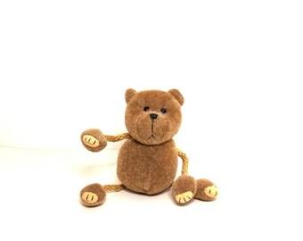 Miniature Teddy Bear: Ray Broundie