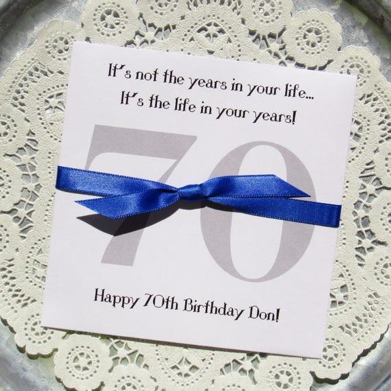 Like this item?  sc 1 st  Etsy & 70th Birthday Party 70th Birthday Favors Adult Birthday
