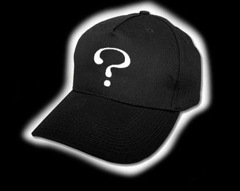 Question Mark Baseball Cap