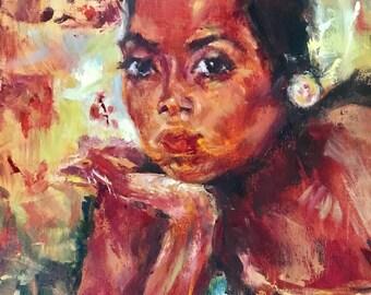 Woman portrait copy