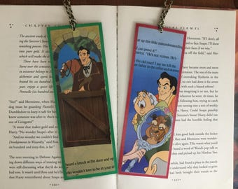 Gaston Bookmarks Disney's Beauty and the Beast