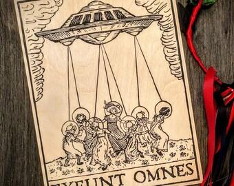 Exeunt Omnes - Strange Blockprint of a UFO Abduction