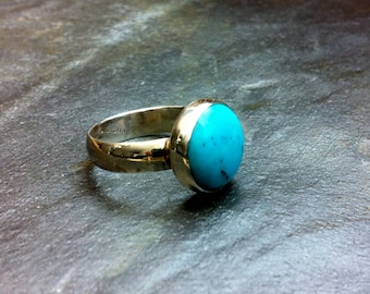 Robin's Egg Blue Turquoise on Sterling