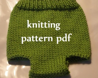 Diaper Cover Knitting Pattern in 3 Sizes, PDF Number 107 & 108, INSTANT DOWNLOAD -- Easy knit -- Over 35,000 patterns sold
