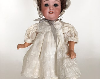 Armand Marseille bisque head toddler model 560a, German bisque head doll