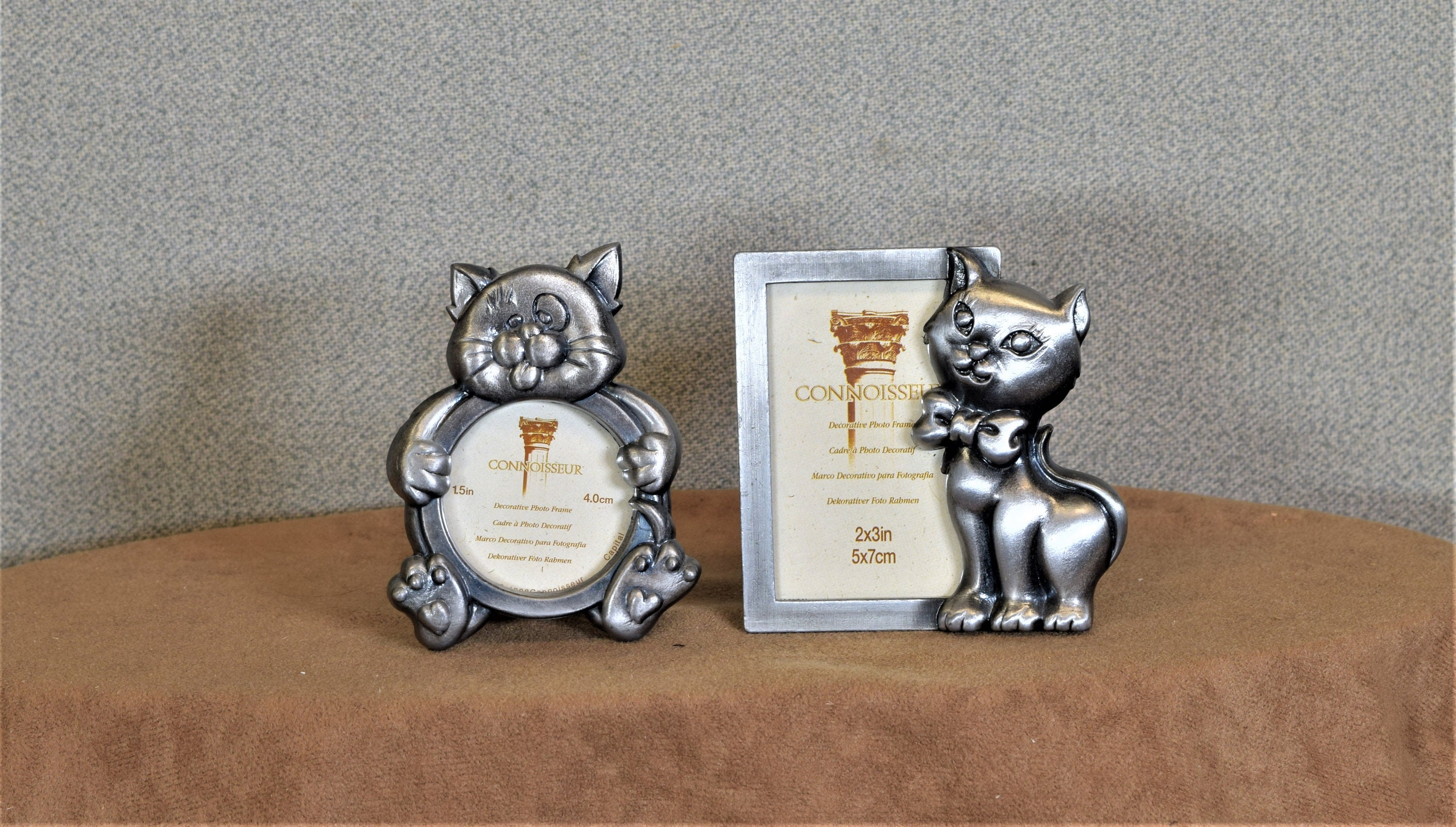 Cat Photo Frames 2x3 and 1 3/4\