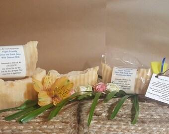 Vegan Soap, Vegan Coconut Milk Soap, Coconut Milk Soap, Homemade Vegan Soap, Handmade Vegan Soap, Homemade Soap, Handmade Soap, Bath & Body
