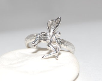 Silver Stacking Ring, Fairy Ring, Silver Fairy Ring, Statement Ring, Unique Silver Ring, Bohemian Ring, Fantasy Ring, Magical Ring