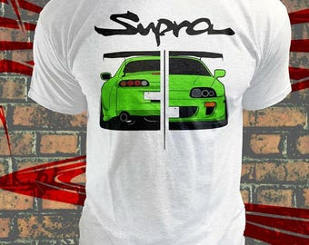 Classic Toyota Supra Mk4 T- shirt,Original design,Supra MK4 tees,Toyota Tshirts,Clasic Tshirt,Gift for men,Gift for her