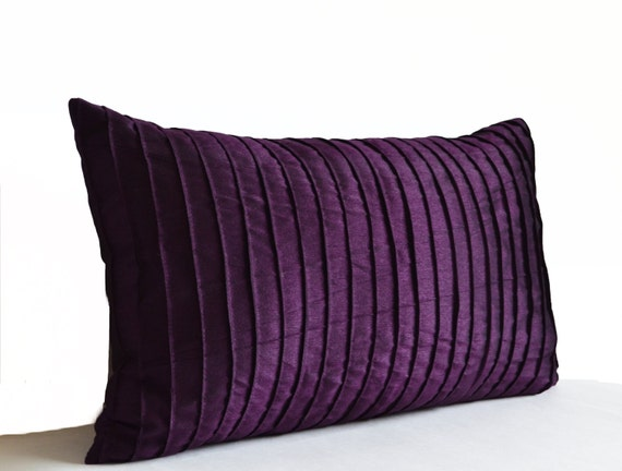 Purple Pillow Covers Purple Decorative Pillow Dark Purple - photo#45