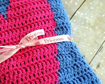 Crochet Heart Baby Blanket Pattern