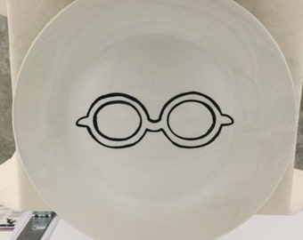 Eyeglass plate set