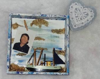 Sea mini photo frame