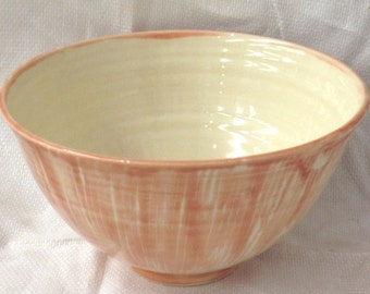 Coral Bowl - Ceramic Bowl - Pottery Bowl