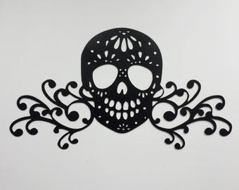 Sugar Skull with Flourishes