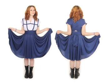 Police Box inspired Convertible Dress