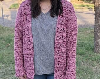 Crocheted Spring Cardigan