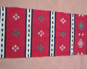 Size:4.5 ft by 1.7 ft Handmade Kilim Runner Vintage Turkish Small Kilim Runner