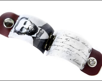 Abe Lincoln, Lincoln cuff, Abraham Lincoln print, History Buff, History Teacher Gift, Civil War