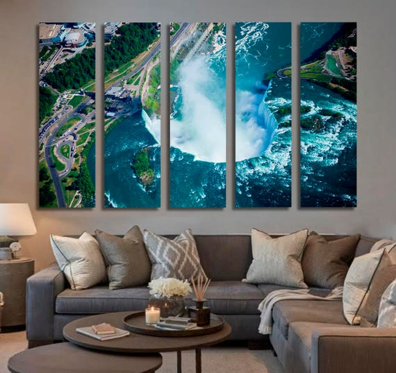 Niagara Falls in Ontario Canada Waterfall Wall Art Waterfall