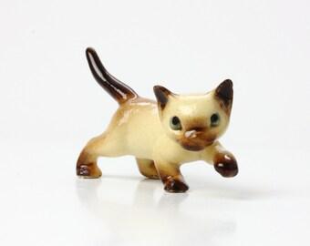 Hagen Renaker Mini Stalking Papa Cat - Ceramic Animal