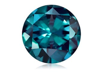 1.12-1.37 Cts of 6.5x6.5 mm AAA Round Cut Lab Created Alexandrite ( 1 pc ) Loose Gemstone -396845