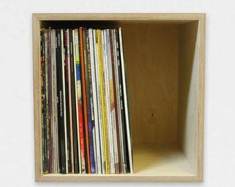 Record Storage Cube | Vinyl Record Storage