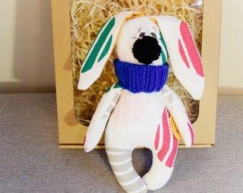 Handmade Cuddle-nose bunny