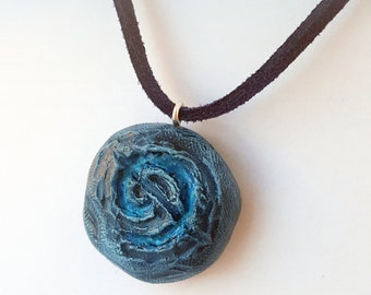 Round Hearthstone Pendant