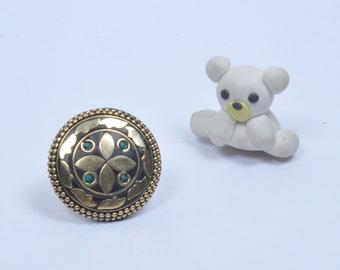 Handmade One of a Kind Ring Free Size By Silveram JK-SJ-1