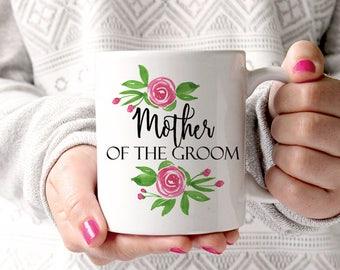 Mother of the Groom Gift Mug - Mother of the Groom Mug - Coffee Mug Bridal Shower GIft - Mother of the Bride Mug - Mother of the Bride Gift