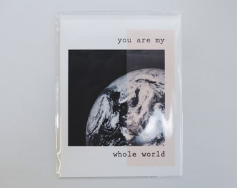 You're My Whole World Card